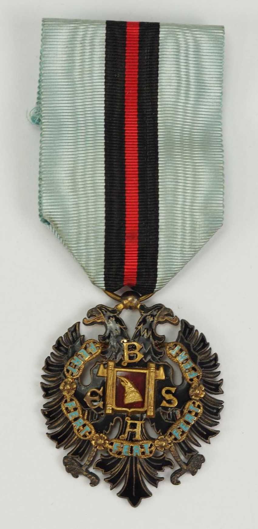 Albania: order of the Loyal / Besa-order, 2. Model (1940-1943), Knight's Decoration. - photo 1