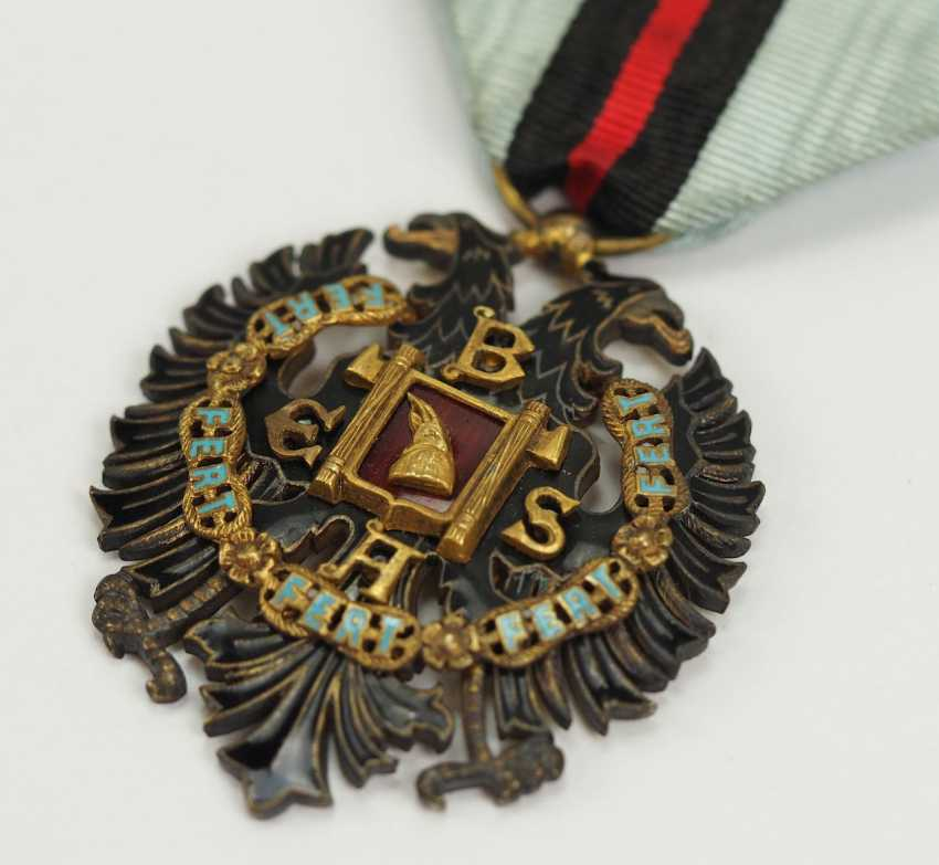 Albania: order of the Loyal / Besa-order, 2. Model (1940-1943), Knight's Decoration. - photo 2