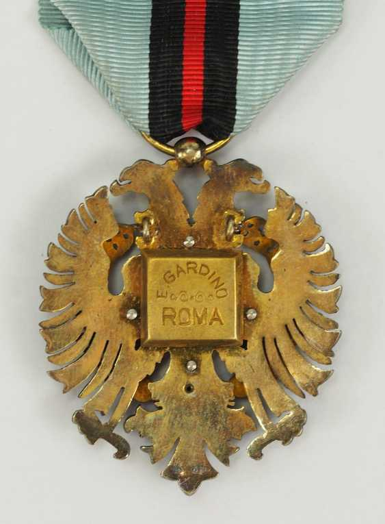 Albania: order of the Loyal / Besa-order, 2. Model (1940-1943), Knight's Decoration. - photo 3