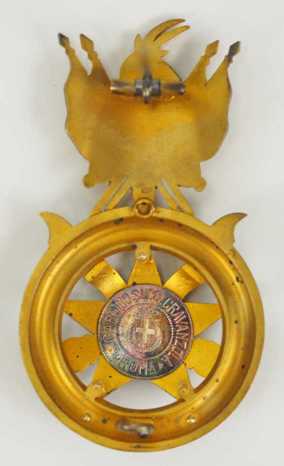 Albania: Skanderbeg Order, 1st Model (1925-1939), officer's decoration, in a case. - photo 8