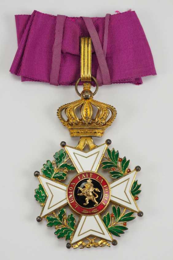 Belgium: Leopold-Order, 2. Model (1839-1951), Comtur Cross. - photo 1