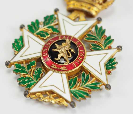 Belgium: Leopold-Order, 2. Model (1839-1951), Comtur Cross. - photo 2