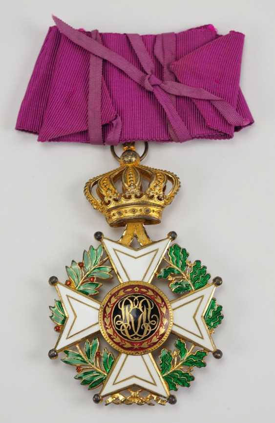 Belgium: Leopold-Order, 2. Model (1839-1951), Comtur Cross. - photo 3