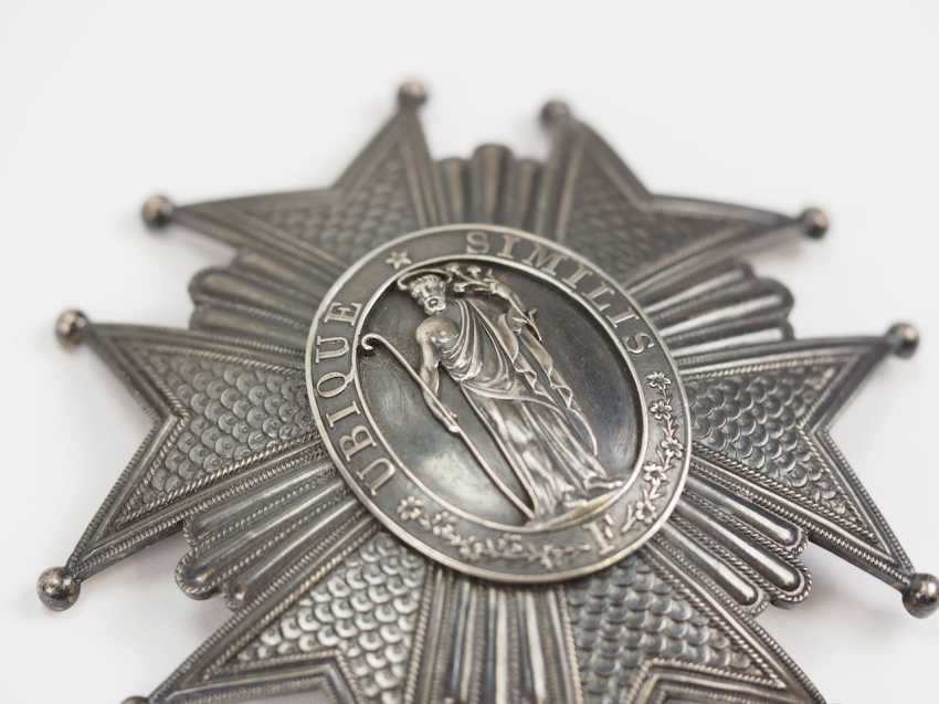 Lot 0817  Tuscany: order of St  Joseph, Grand cross star