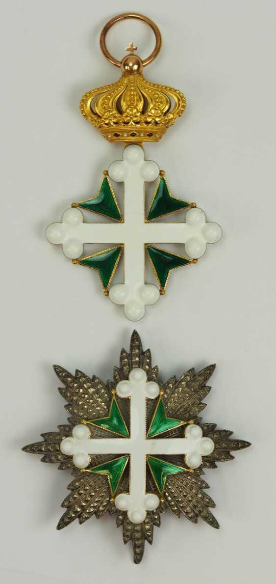 орден святых маврикия и лазаря сардинского королевства закончил