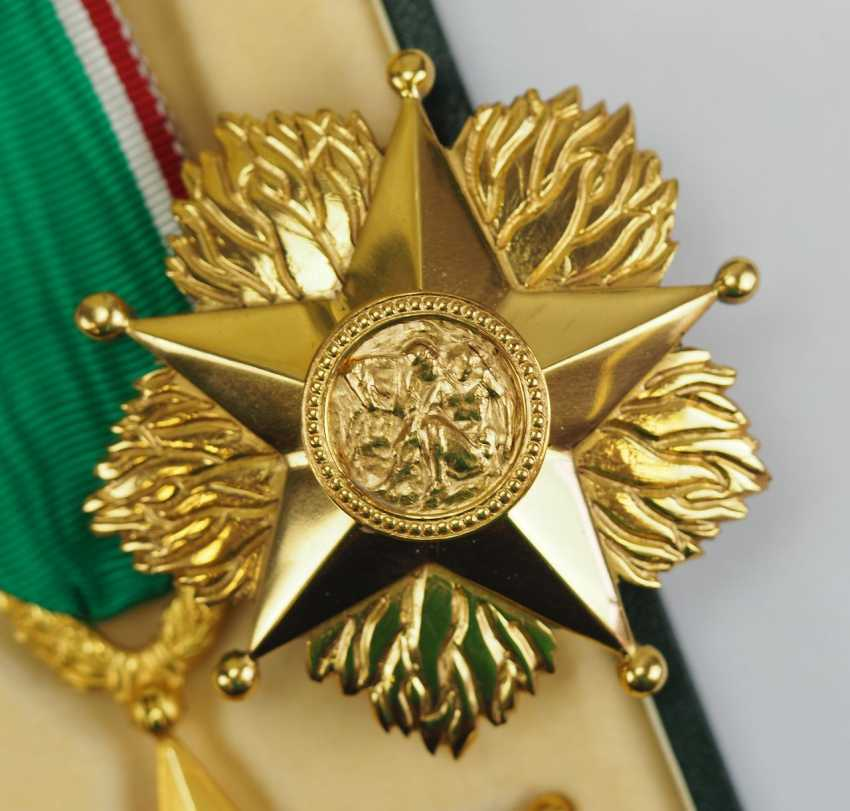 Italy: order of the star of solidarity, 1. Type, Breast Star. - photo 2