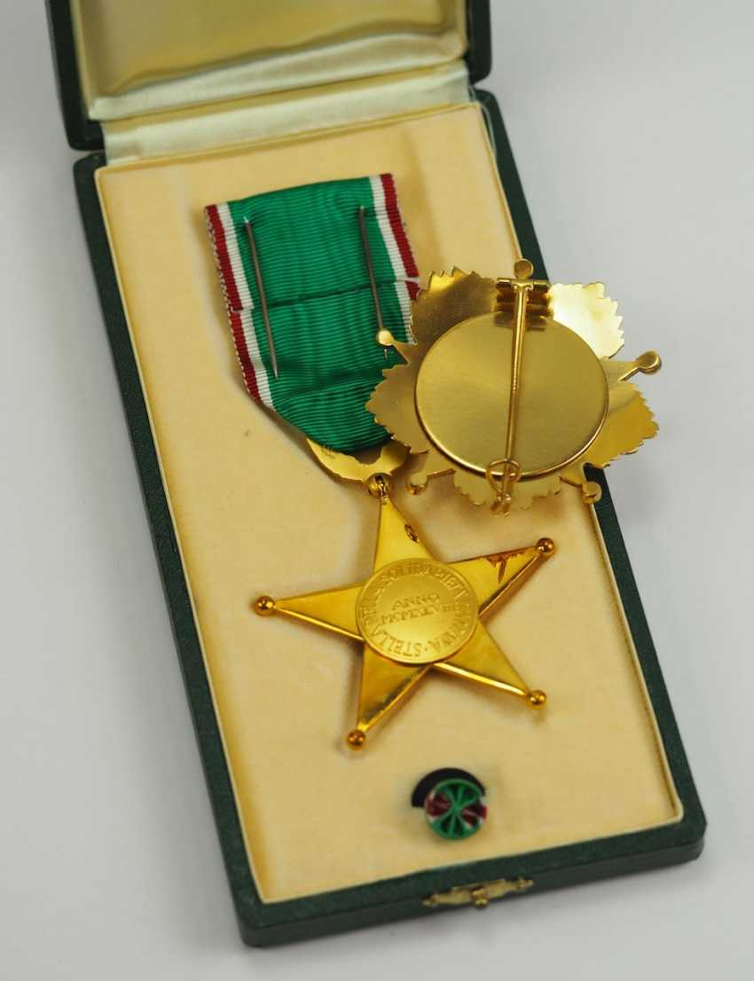 Italy: order of the star of solidarity, 1. Type, Breast Star. - photo 3