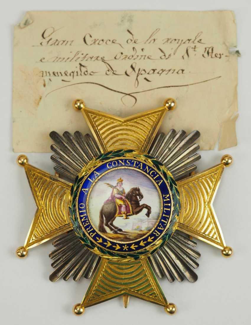 Spain: Royal and Military order of St. Hermenegildo, 1. (1814-