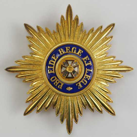 Russia: Imperial and Royal order of the White eagle, breast star.