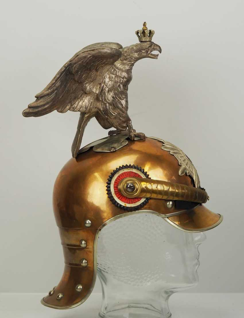 Garde Du Corps Marseille prussia: helmet m 1889 for teams in the regiment garde du