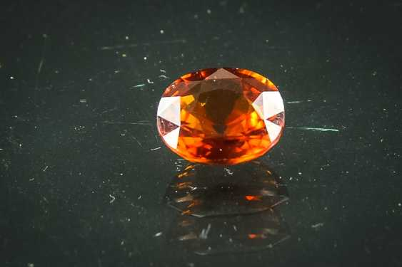 Big hessonite garnet 5,3 ct - photo 1