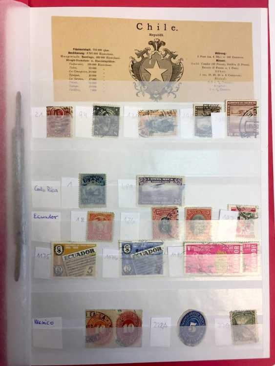 Assorted stamp collection AFRICA, SOUTH America, RUSSIA, MIDDLE EAST, ASIA: China, Japan, India, Pakistan, Burma,.. - photo 5