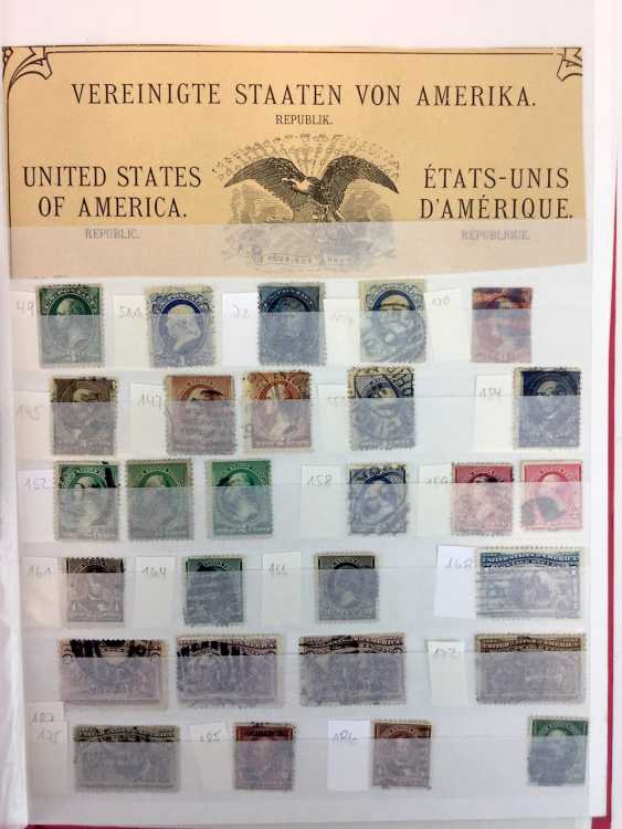 Assorted stamp collection: United States / United States of America. - photo 1
