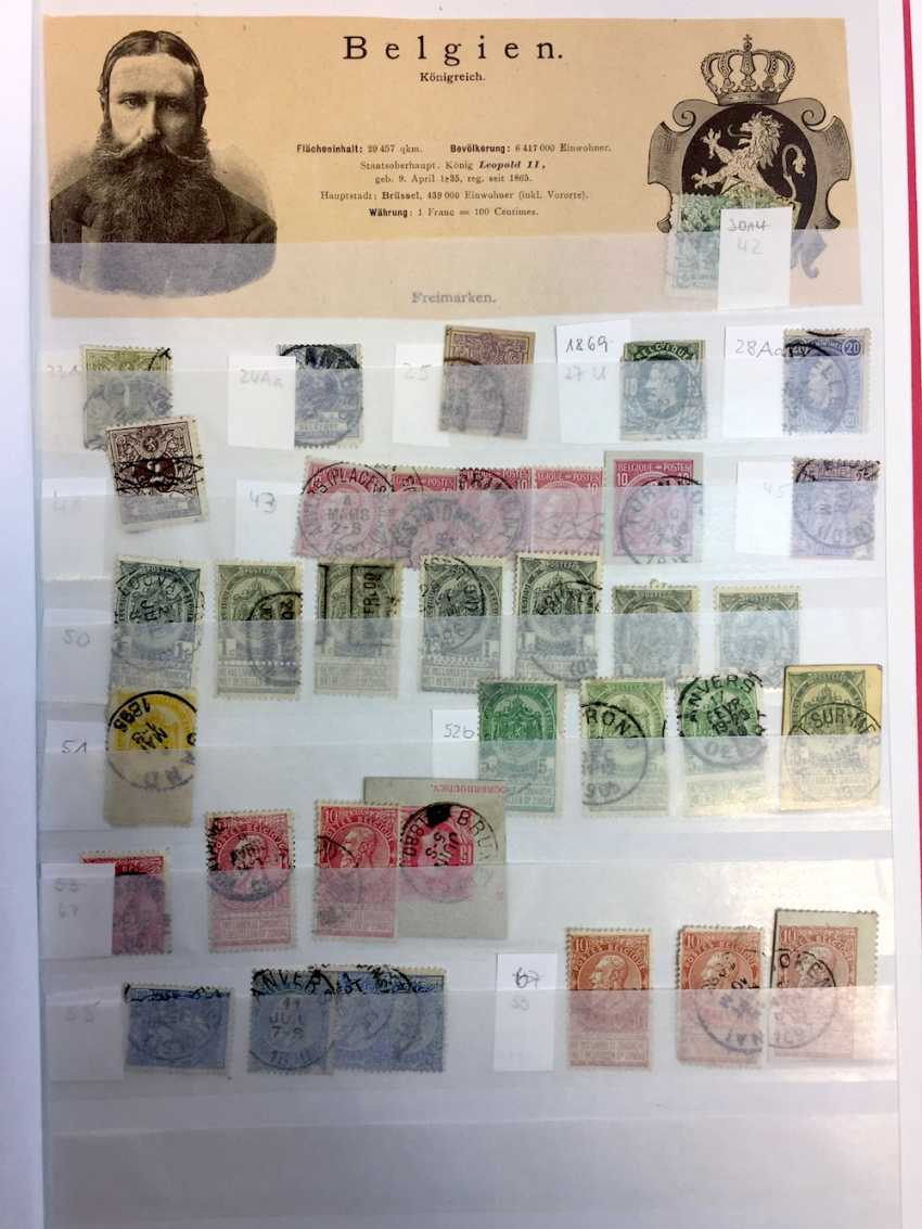 Stamp Collection: Italy, France, Belgium, The Netherlands, Spain, Portugal. - photo 1