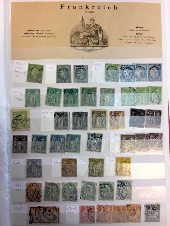 Stamp Collection: Italy, France, Belgium, The Netherlands, Spain, Portugal. - photo 3