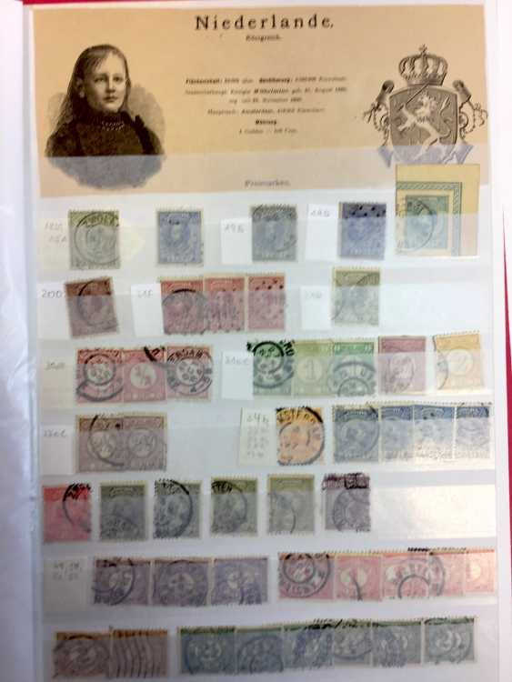 Stamp Collection: Italy, France, Belgium, The Netherlands, Spain, Portugal. - photo 9