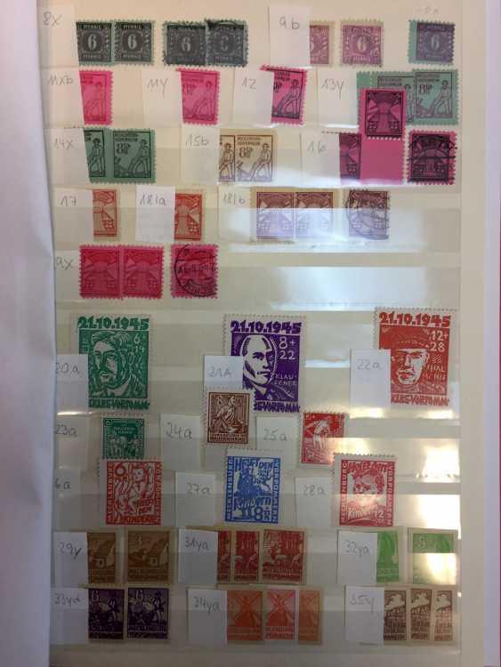 Stamp Collection: Soviet Occupation Zone, Mecklenburg-Vorpommern, Germany. - photo 1