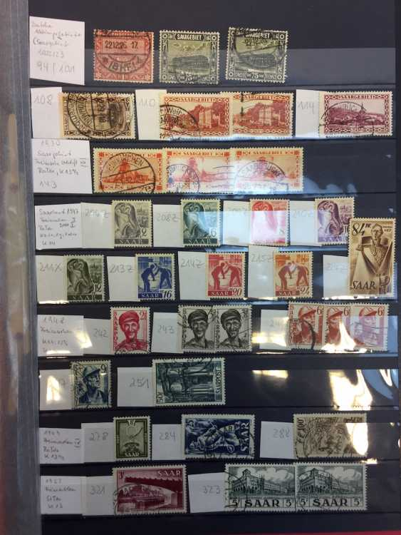 Stamp Collection: The Allied Occupation: American, British, French Zone, Saar Territories, 1945 - 1948. - photo 6