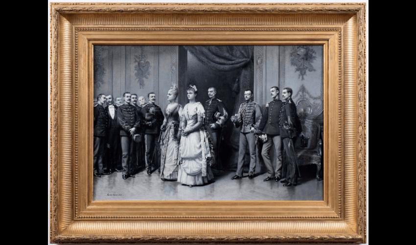 LOUIS AUGUSTE GEORGES LOUSTAUNAU (PARIS 1846 - VERSAILLES 1898) - photo 2