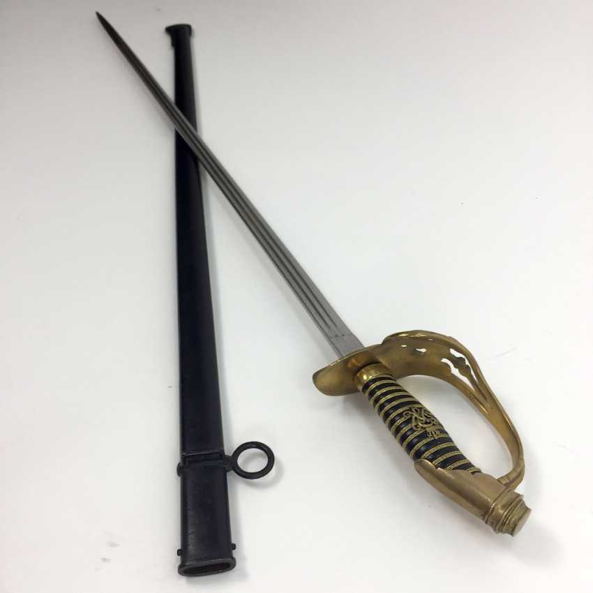 Infantry officer's rapier, IODINE, M 1889, Prussia, WKC Solingen, very good. - photo 2