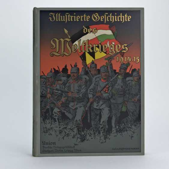 Ardenne, Illustrated history of the world war 1914/15, volume 1, Deluxe edition, excellent - photo 1