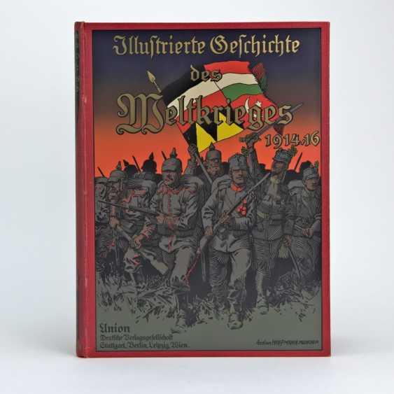 Ardenne, Illustrierte Geschichte des Weltkrieges 1914/16, Band 4, Prachtausgabe ausgezeichnet - Foto 1