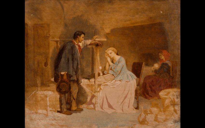 THÉODORE VALERIO (HERSERANGE 1819 - VICHY-1879) - Foto 1