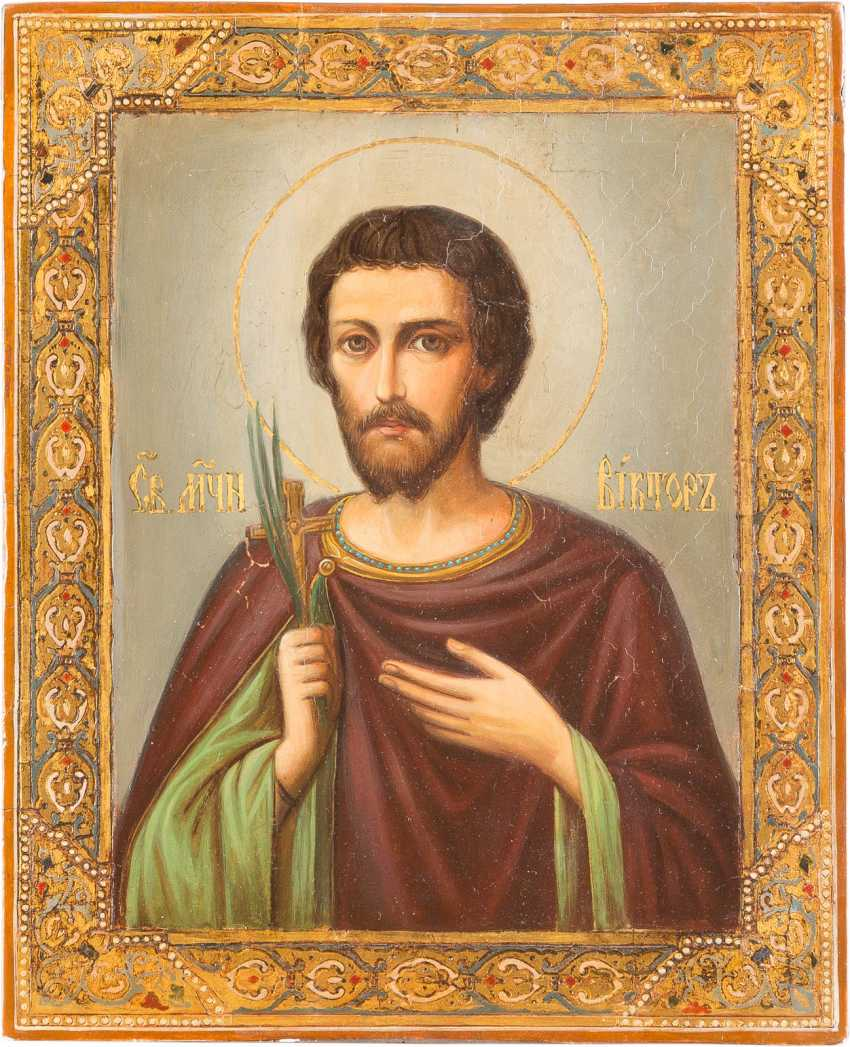 ICON OF THE HOLY MARTYR VICTOR - photo 1