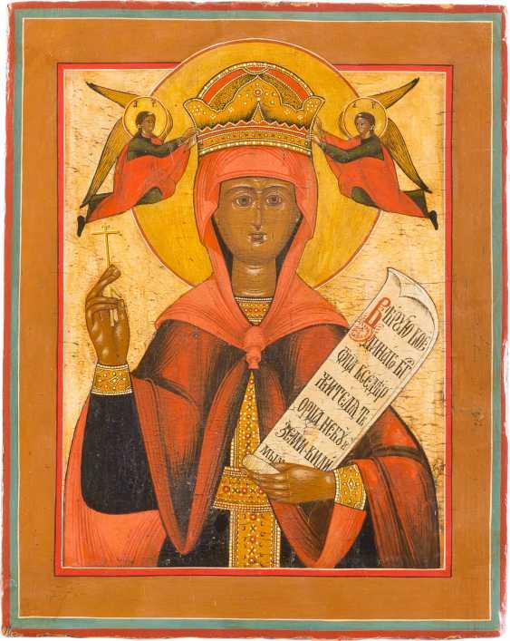 ICON OF ST. PARASKEVA - photo 1