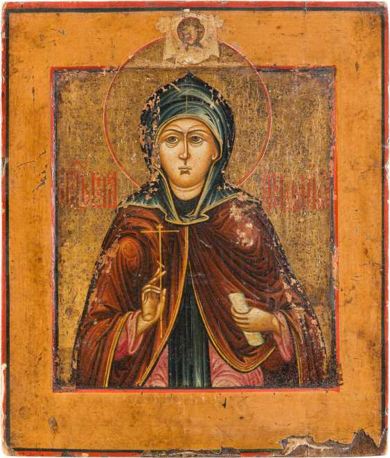 ICON OF THE HOLY MARTYR PELAGIA - photo 1