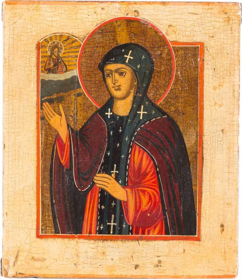 ICON OF A HOLY NUN - photo 1