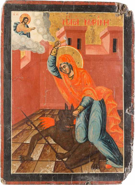 RARE ICON WITH MARINA, WHO BEATS THE DEVIL - photo 1