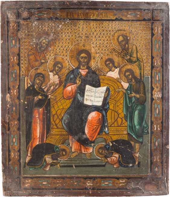 THREE ICONS: THE MORE FIELDS ICON, EXTENDED DEESIS AND OF THE MOTHER OF GOD SMOLENSKAYA - photo 4