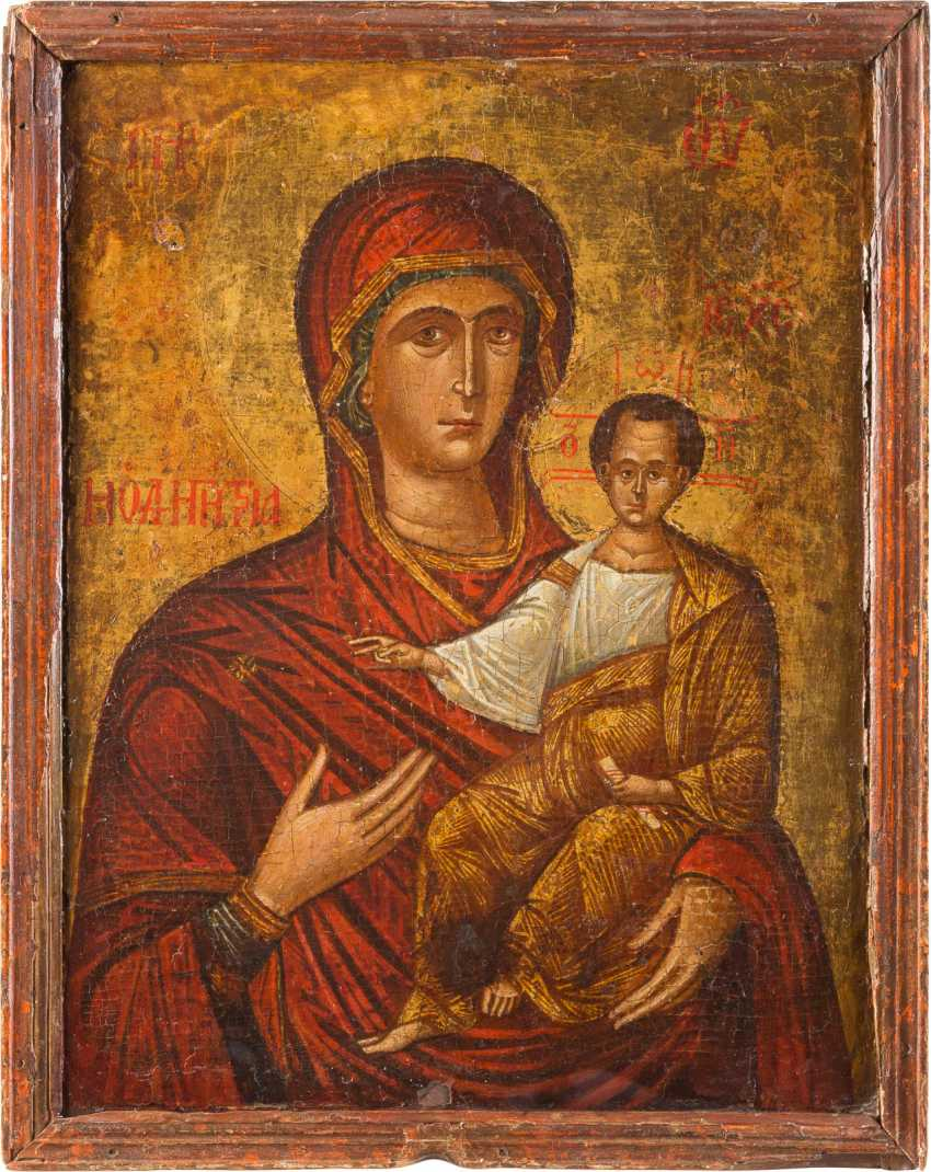 LARGE-SCALE ICON OF THE MOTHER OF GOD HODEGETRIA - photo 1