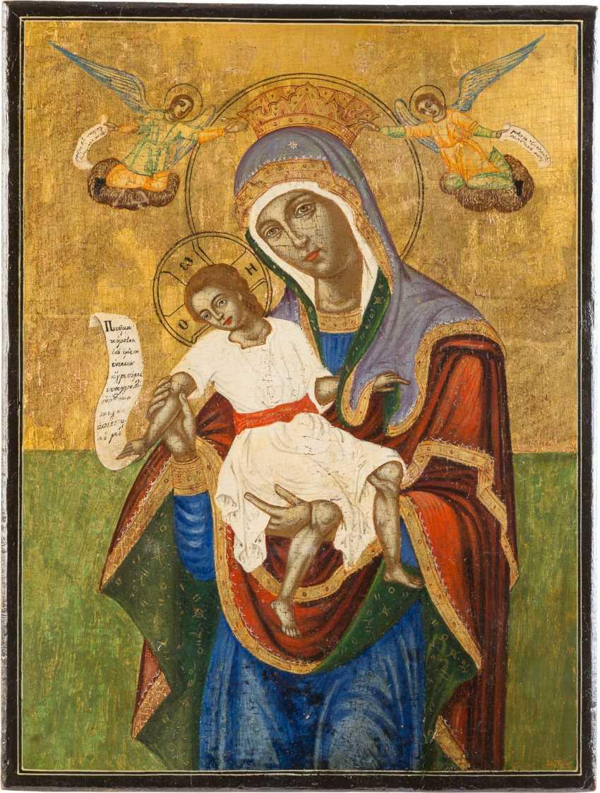 ICON OF THE MOTHER OF GOD OF KYKKOS (KYKOTTISSA) - photo 1