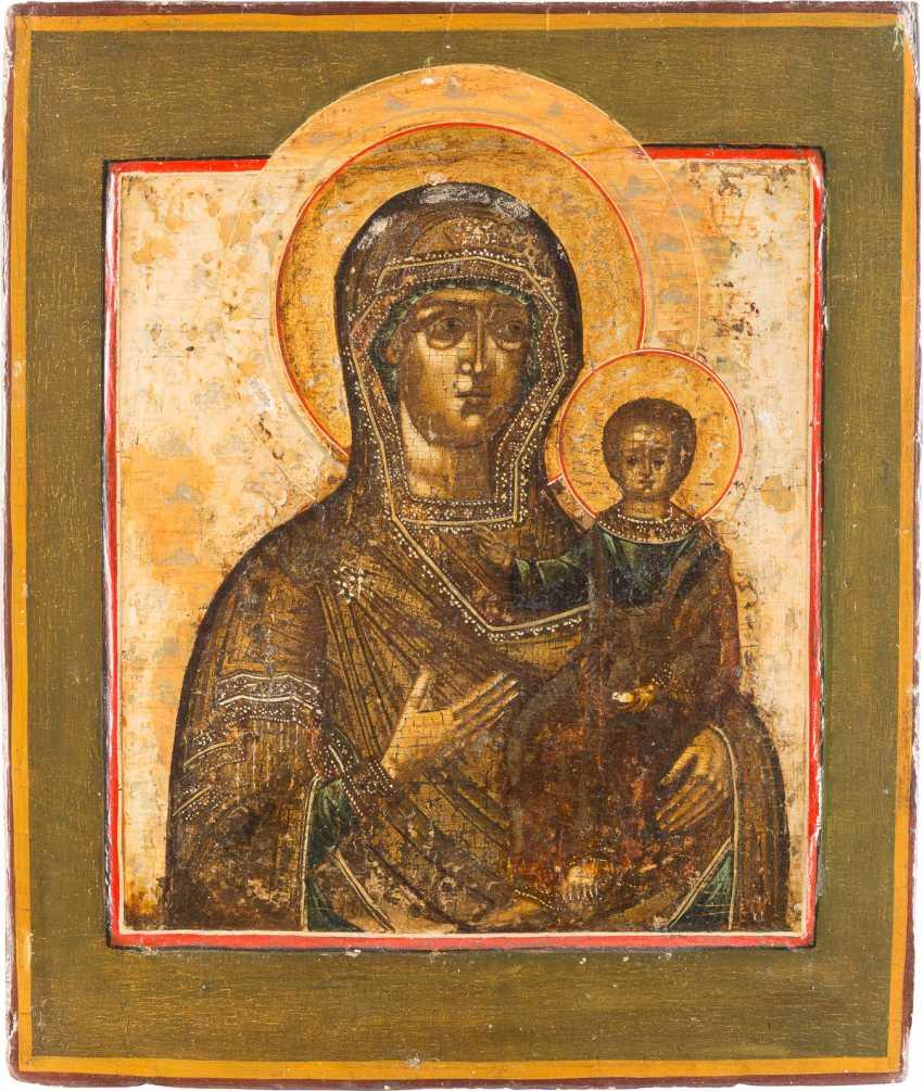 ICON OF THE MOTHER OF GOD OF SMOLENSK (SMOLENSKAYA) WITH RIZA - photo 2