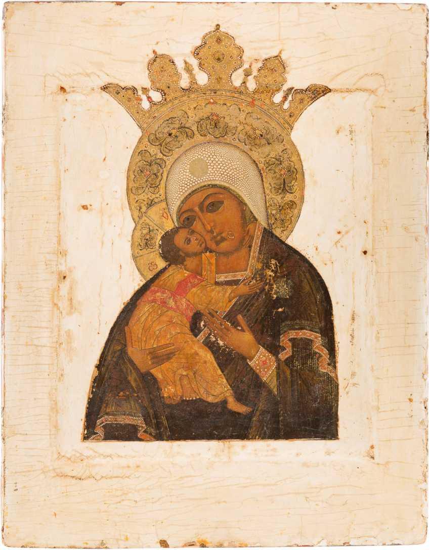 ICON OF THE MOTHER OF GOD OF VOLOKOLAMSK (WOLOKOLAMSKAJA) - photo 1