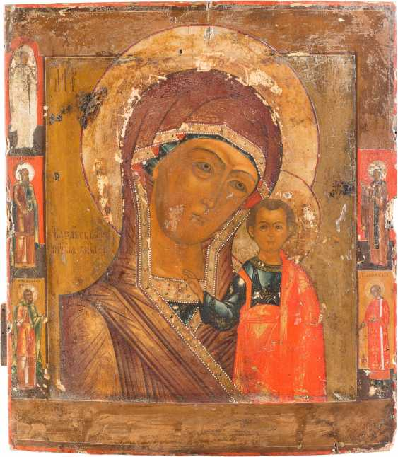 LARGE ICON OF THE MOTHER OF GOD OF KAZAN (KAZANSKAYA) - photo 1