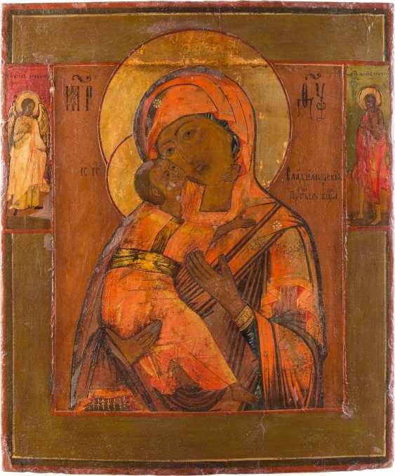 ICON OF THE MOTHER OF GOD OF VLADIMIR (VLADIMIRSKAYA) - photo 1