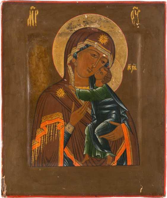 ICON OF THE MOTHER OF GOD OF TOLGA (TOLGSKAJA) - photo 1