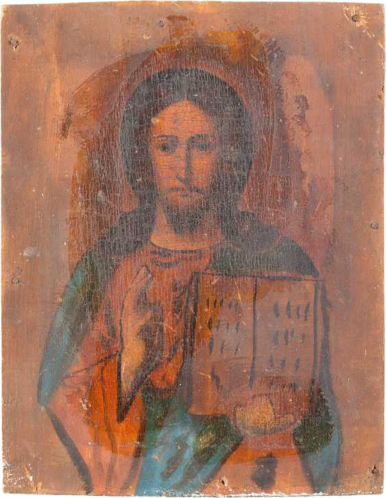 FIVE ICONS: CHRIST PANTOCRATOR, AND MIRACULOUS IMAGES OF THE MOTHER OF GOD - photo 6