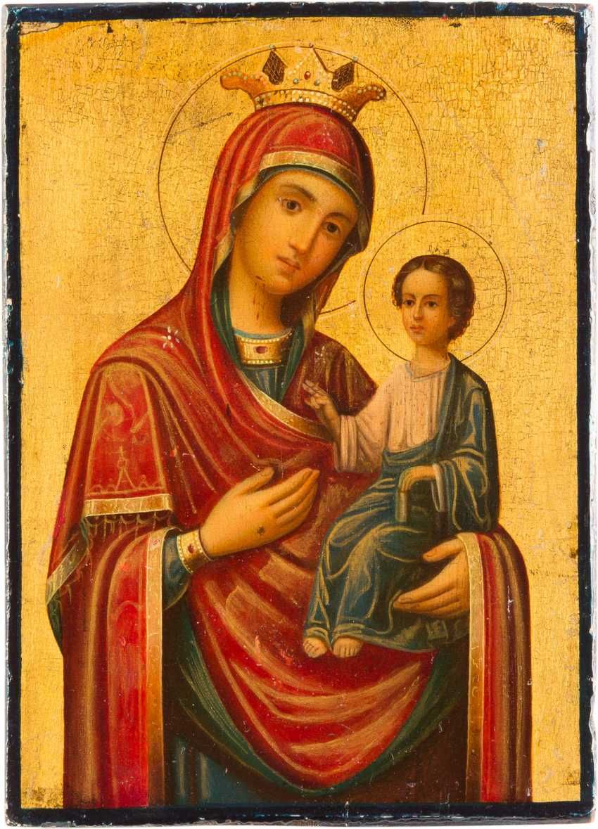 ICON OF THE MOTHER OF GOD OF THE GATE (PORTAITISSA) - photo 1