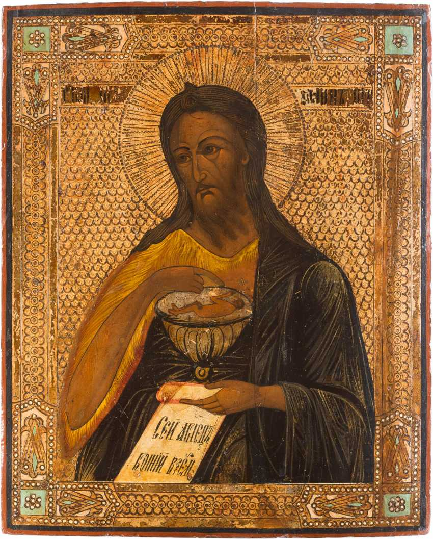 THREE-PIECE DEESIS: CHRIST PANTOCRATOR FLANKED BY THE MOTHER OF GOD AND JOHN THE FORERUNNER - photo 4