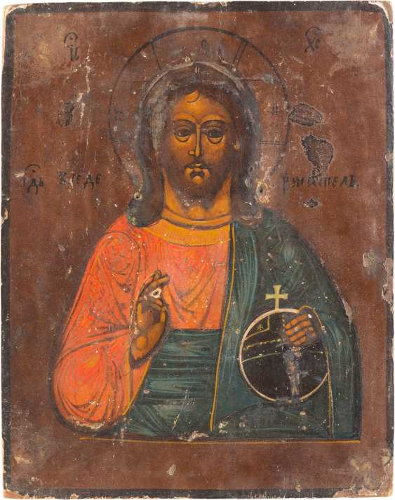 THREE ICONS: CHRIST PANTOCRATOR, EXTENDED DEESIS AND FESTIVE ICON - photo 4