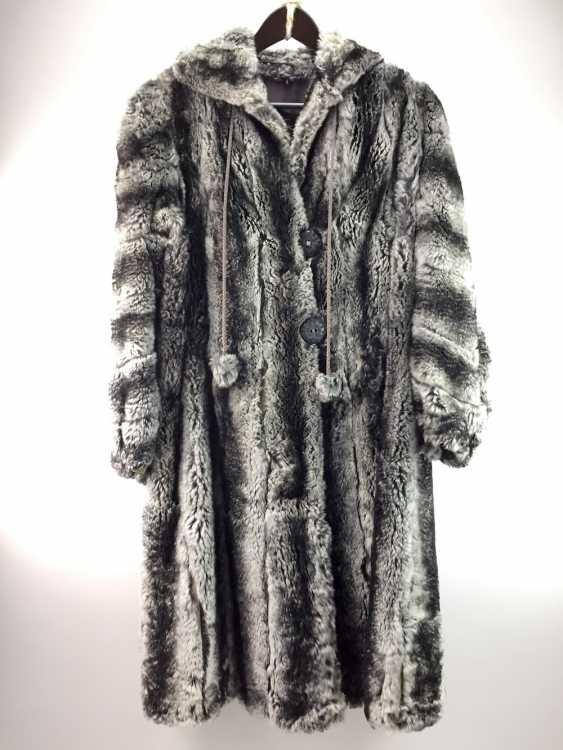 Chinchilla coat, Chinchilla Coat, Chinchilla fur coat Шиншилла: furrier work, pleasing cut, very good receipt - photo 1