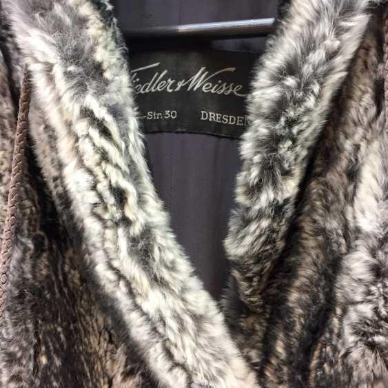 Chinchilla coat, Chinchilla Coat, Chinchilla fur coat Шиншилла: furrier work, pleasing cut, very good receipt - photo 2