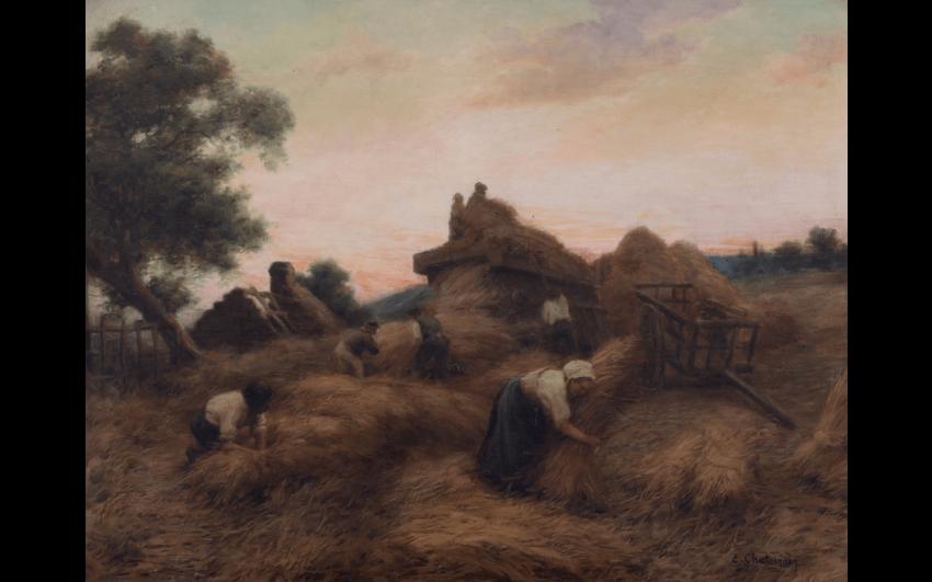 ERNEST CHATEIGNON (1863 - VERS 1910)