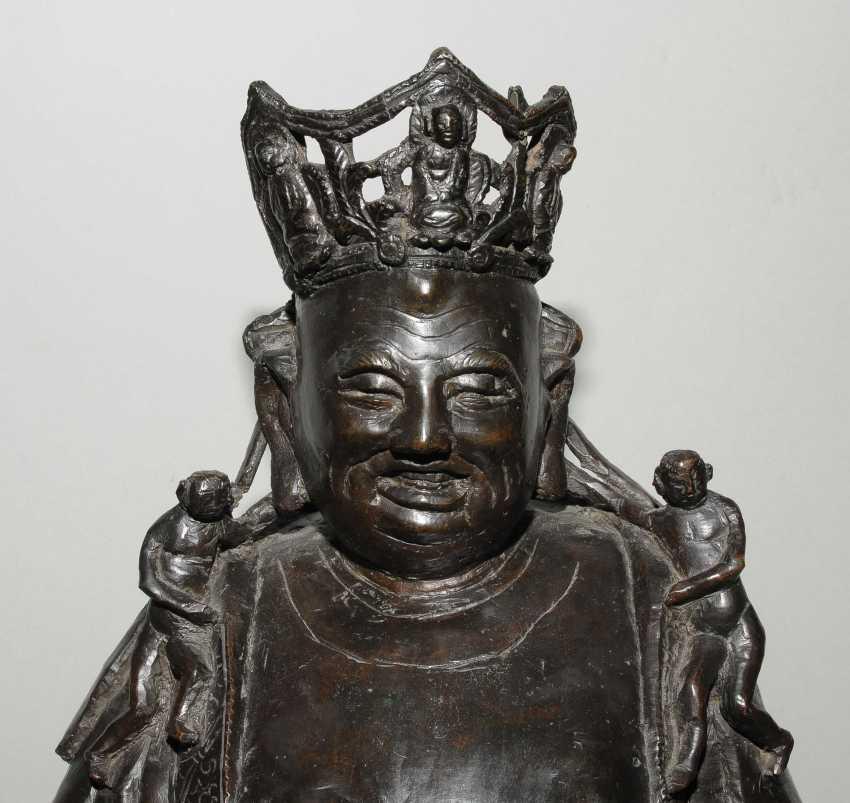 Grosse Bodhisattvafigur - photo 7