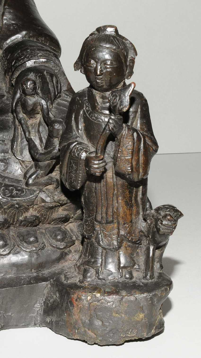Grosse Bodhisattvafigur - photo 9