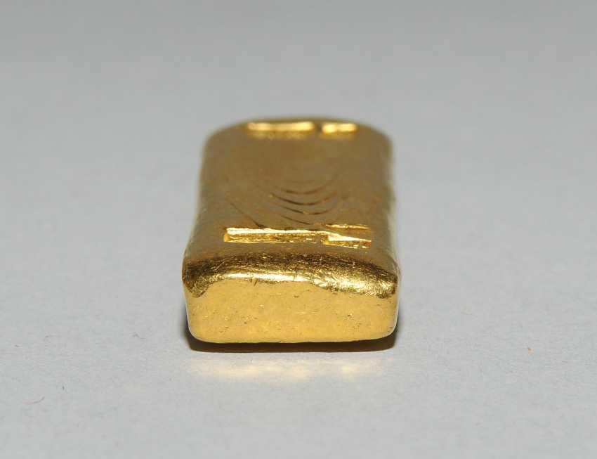 Goldbarren - photo 7